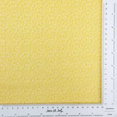 Tela algodón en amarillo