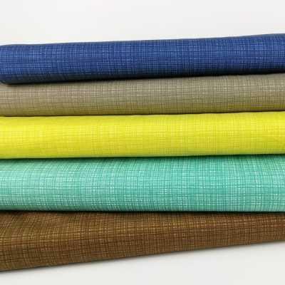 Combinación de telas básicas de algodón de calidad