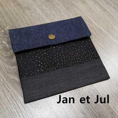 Bolsa para mascarilla de Jan et Jul