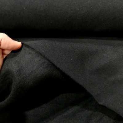 Sudadera reciclada color negro