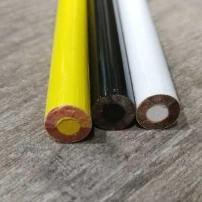 Pack de 3 lápices para marcar tejidos en negro, amarillo y blanco