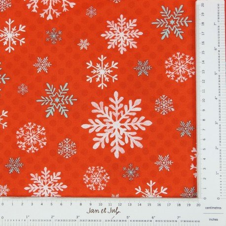 Red Snowflake  - 1