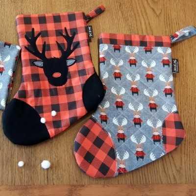 Calcetines navideños de Jan et Jul