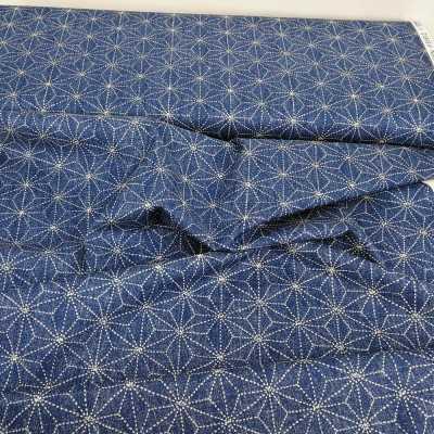 Tela con dibujos de sashiko