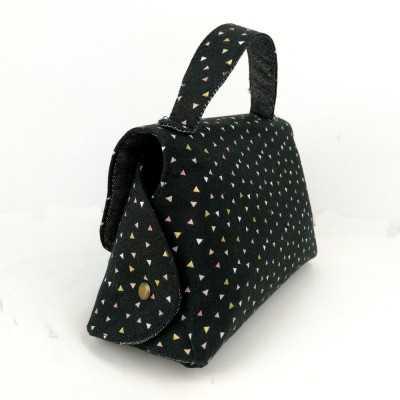 Bolso kuko en color negro
