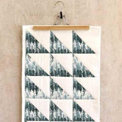 Quilt con tela de abetos de AGF fabrics