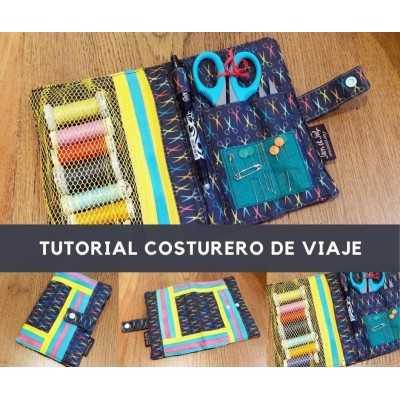 Tutorial para aprender a coser un costurero de viaje