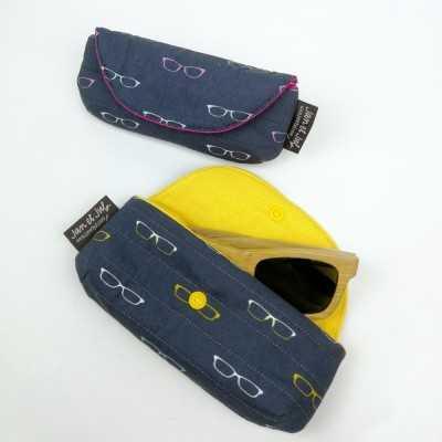 kit para coser una funda de gafas de Jan et Jul
