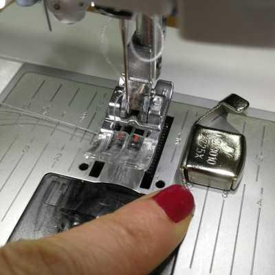 guía para coser recto con iman