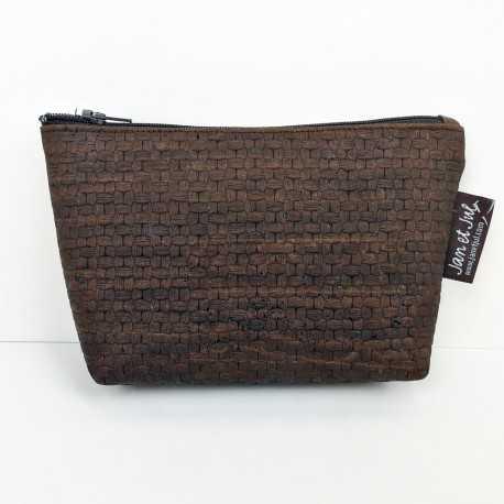 Kit para realizar un monedero con tela de corcho