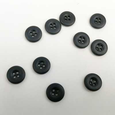 Botones de 15mm en negro