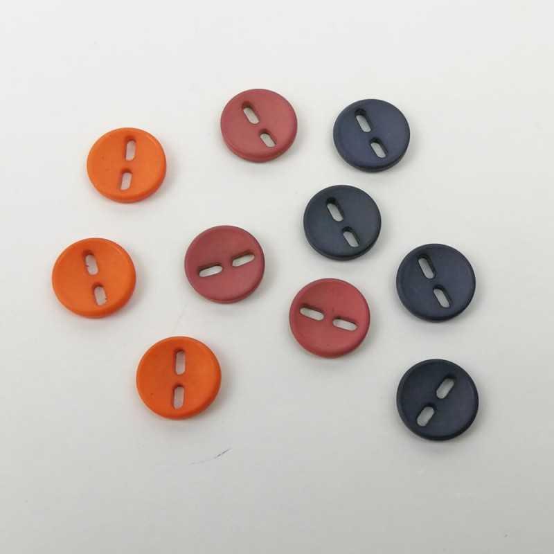 Botones de colores de 15mm