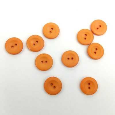 Botón de 18mm en naranja