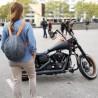 Patrón para realizar la funda para el casco de la moto, medida universal