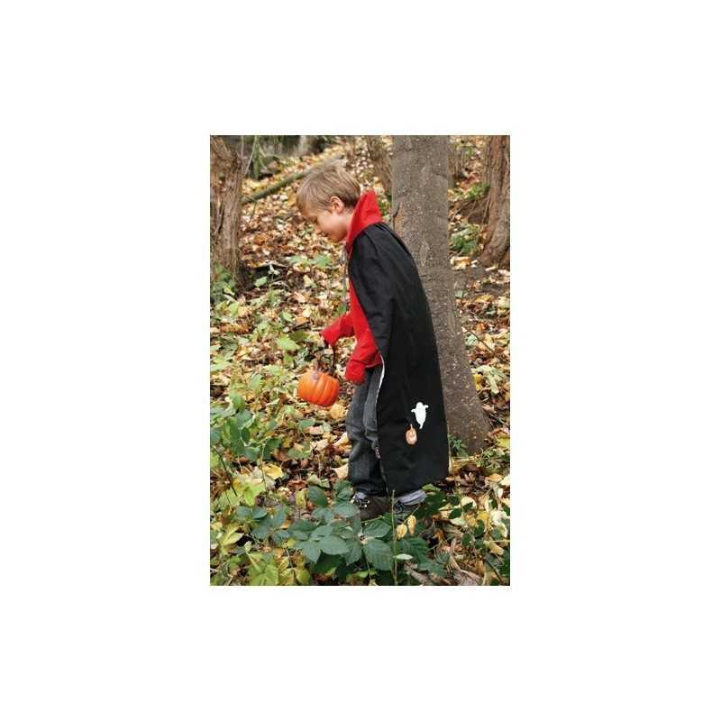 Patrón gratis para coser una capa de Halloween