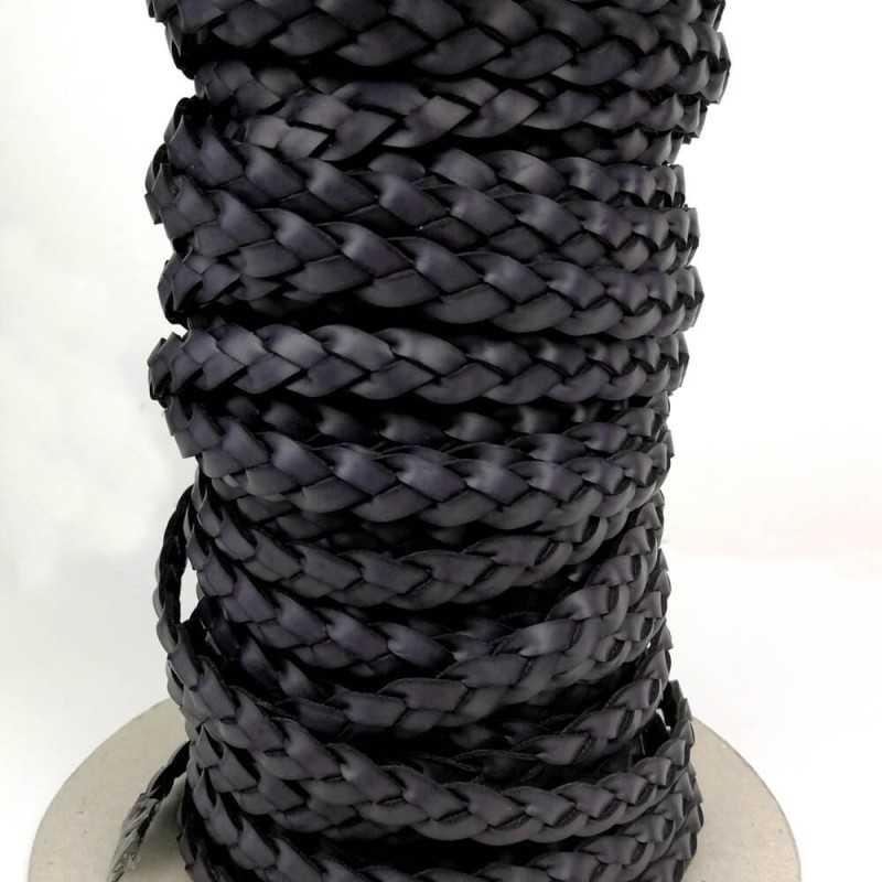 cinta trenzada color negro