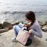 Kit para realizar la mochila Hug de tela diseñada por Jan et Jul, incluye todos los materiales