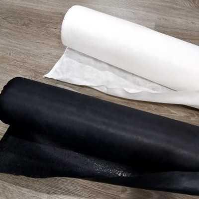 Fliselina adhesiva 1 cara en blanco y negro