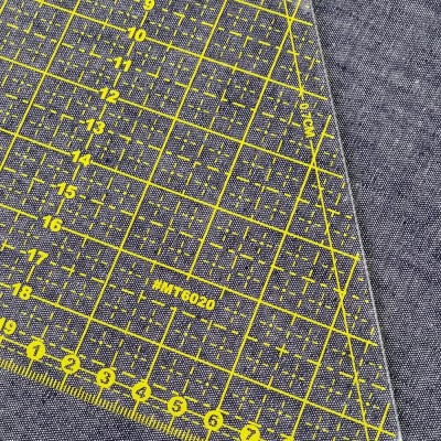 Regla triangular para patchwork y costura