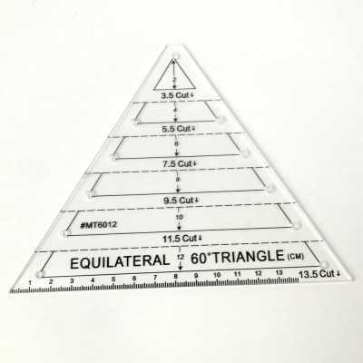 Regla triangulo equilatero