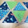 Proyecto Jan et Jul con triángulos realizados con la regla
