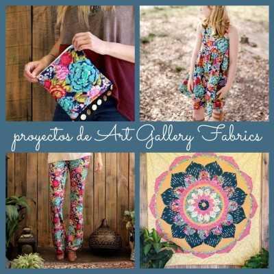 Proyectos de AGF con tela floral espectacular