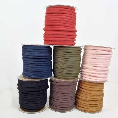 Cinta cordón para asa, imitación ante en colores