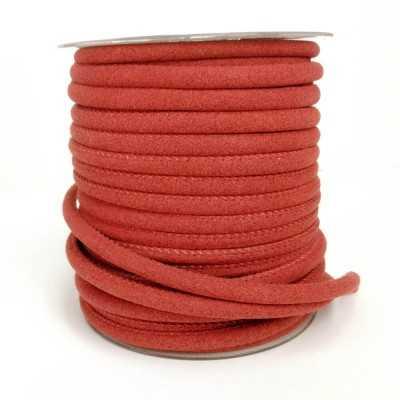 Cinta cordón para asa, imitación ante en colores. color rojo
