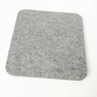 Base de lana de calidad para planchar de 25,50 x 25,50 cm