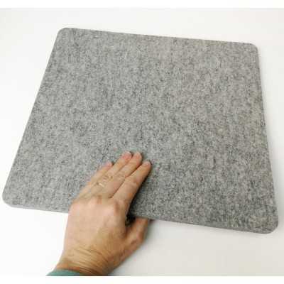 Base de lana gruesa para planchar de 35,50 x 33 cm