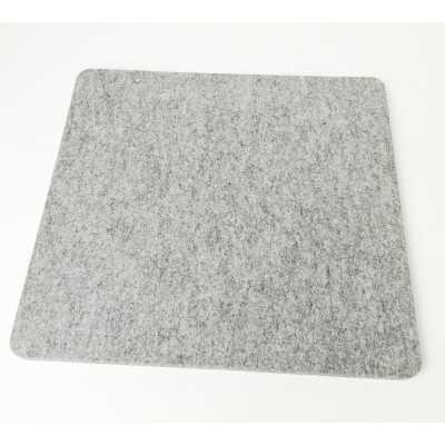 Base de lana gruesa y de calidad para planchar de 35,50 x 33 cm