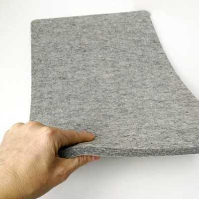 Base de lana gruesa para planchar de 45,50 x 30,50 cm