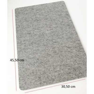 Base de lana de calidad para planchar de 45,50 x 30,50 cm