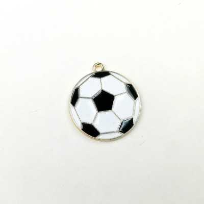 Charm de color con forma de pelota de fútbol