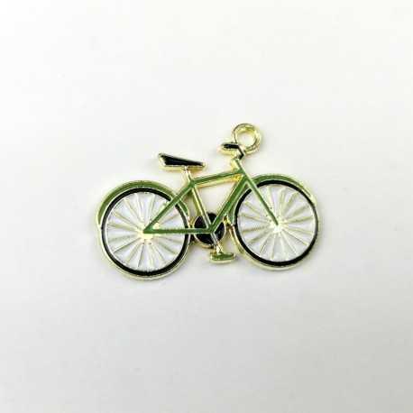 charm o colgante en forma de bicicleta